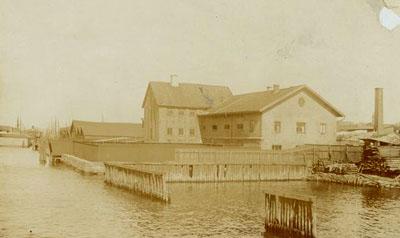 Nedanför Vädersågen 1915