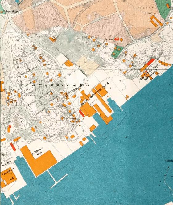 Färjestaden 1923