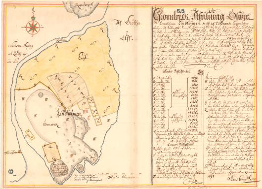 Lindholmen 1694