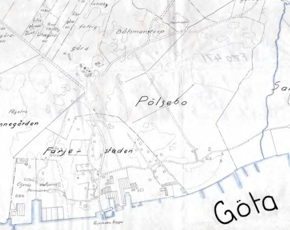 Pölsebo och Färjestaden