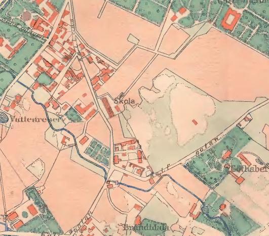 1860. Flygarns Haga.