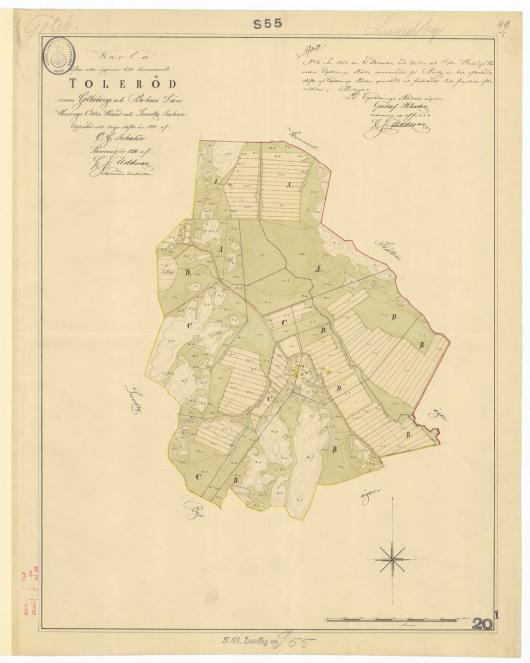 Toleröd 1845