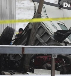 two dead in hudson ave crash involving tractor trailer [ 1280 x 720 Pixel ]