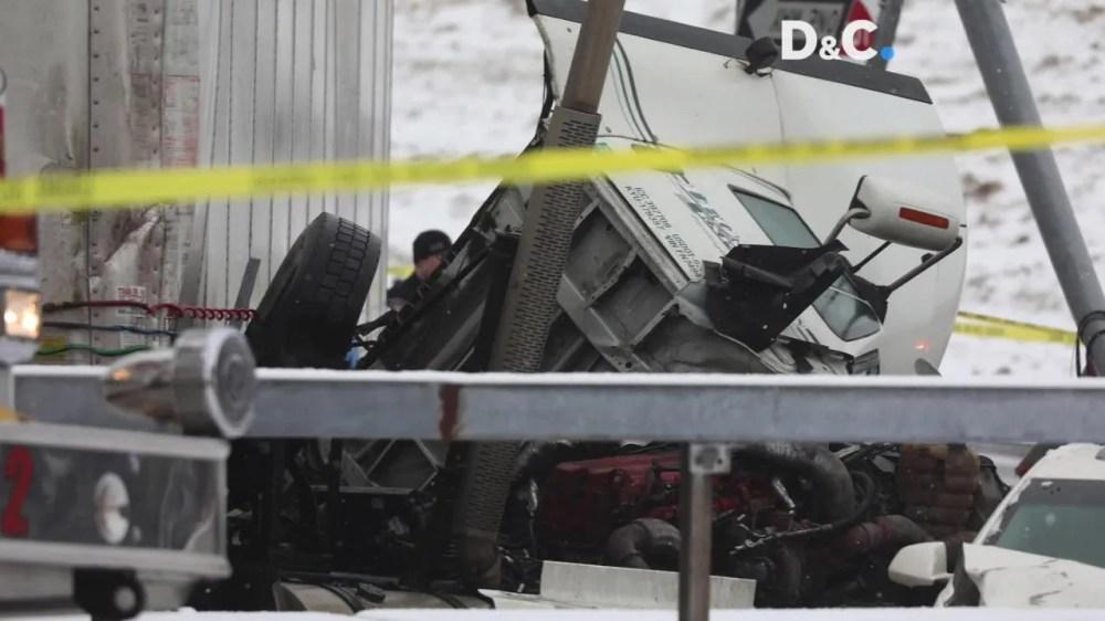 medium resolution of two dead in hudson ave crash involving tractor trailer