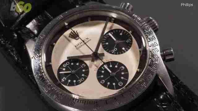 Paul Newman's Rolex just became the most expensive watch ever sold!