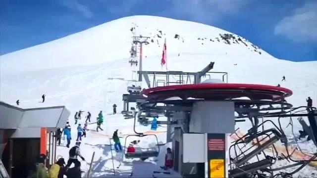 ski chair lift malfunction art deco dining chairs malfunctions sends riders flying at eastern european resort
