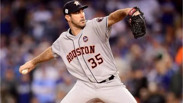2017 World Series: Justin Verlander. Astros win Game 7. first title