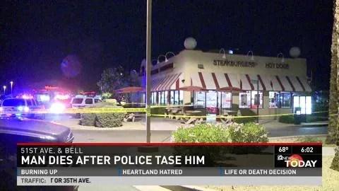man dies after police