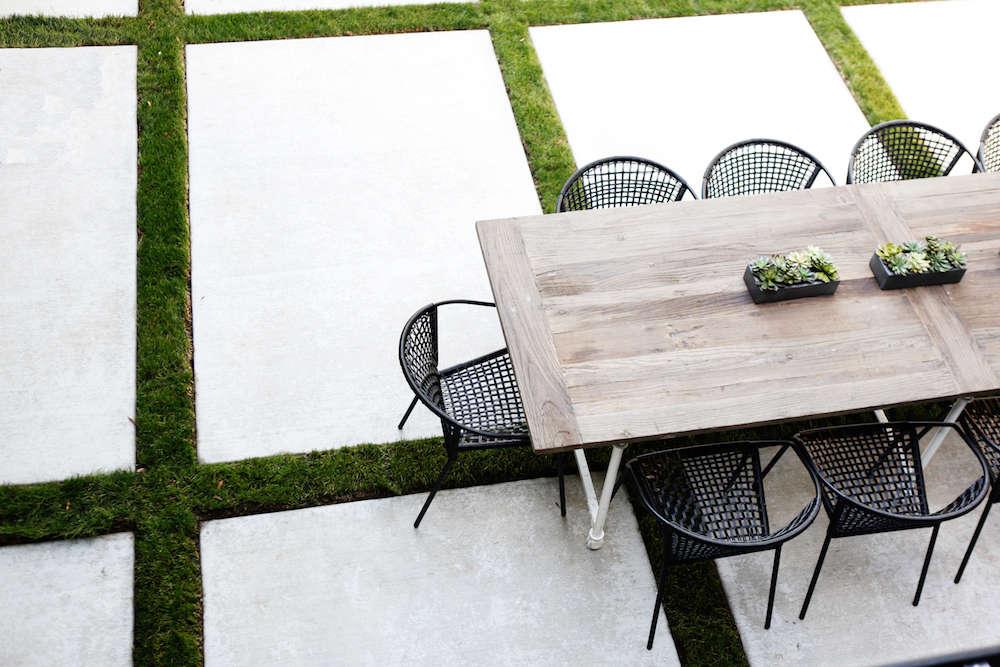 sleekness in seattle modern garden