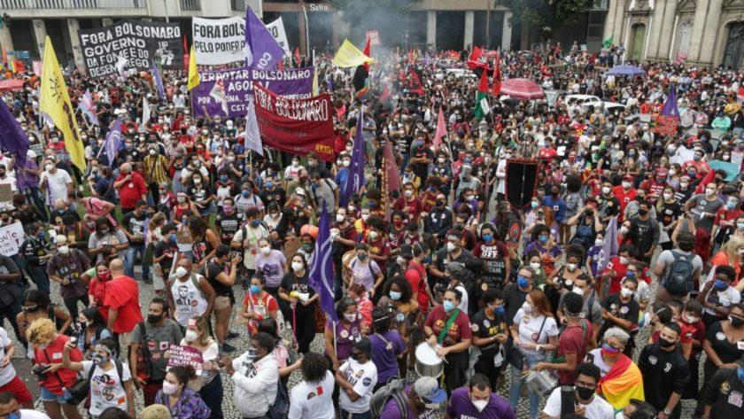 demonstrations - September 7 - left