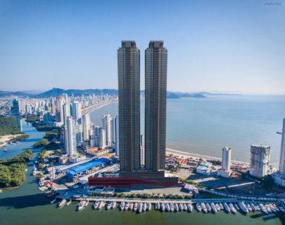 Edifício Yachthouse: prédio mais alto do Brasil terá elevador mais rápido