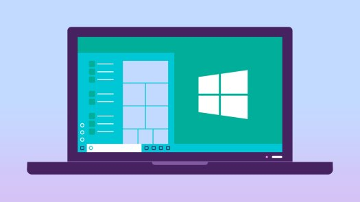 viewing a windows operating system
