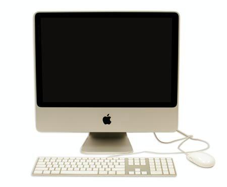 una computadora mac
