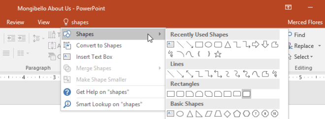 Using the Tell me feature www.office.com/setup
