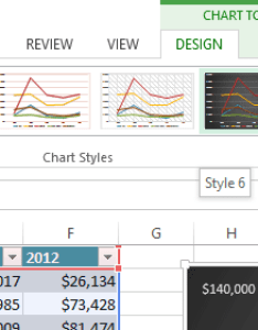 Screenshot of excel also charts rh edu gcfglobal