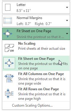 Excel 2013: Printing Workbooks