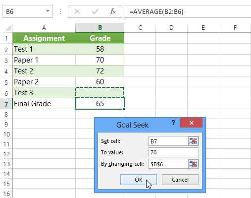 Excel 2013: What-If Analysis