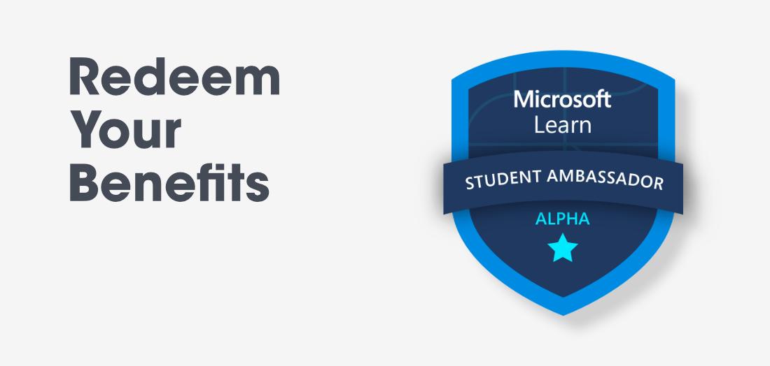 Microsoft Learn Student Ambassador - Redeem Your Benefits At Alpha Level - GeeksforGeeks