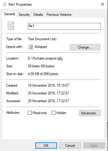 Python File truncate() Method - GeeksforGeeks