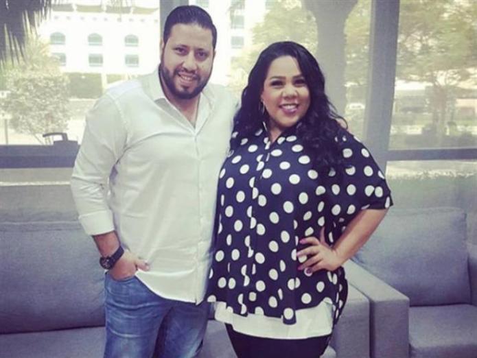 Shaima Saif and her husband