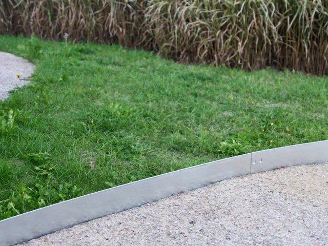 bordures de jardin decoratives en acier