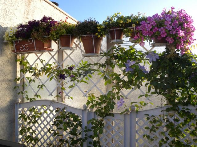 fleurir un balcon ou une terrasse