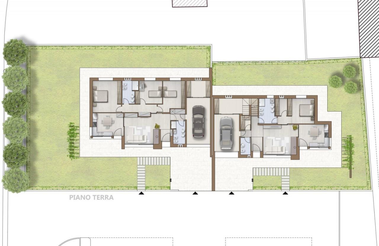 Castello di Godego vendesi Bifamiliare dal design moderno in Classe A