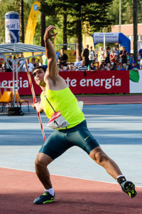 Ihab Abdel Rahman Egyptian Javelin Thrower