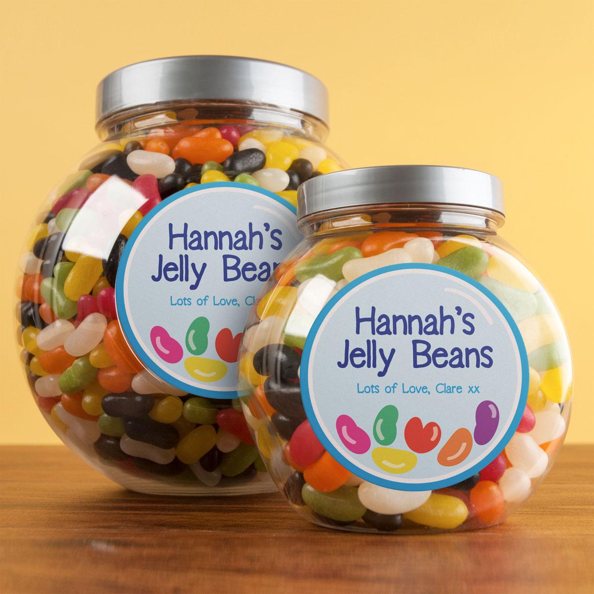 Personalised Beans Jar