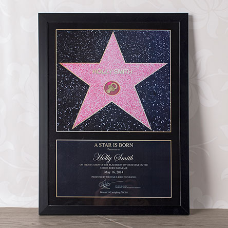 Name A Star For A New Baby Unique Gifts From