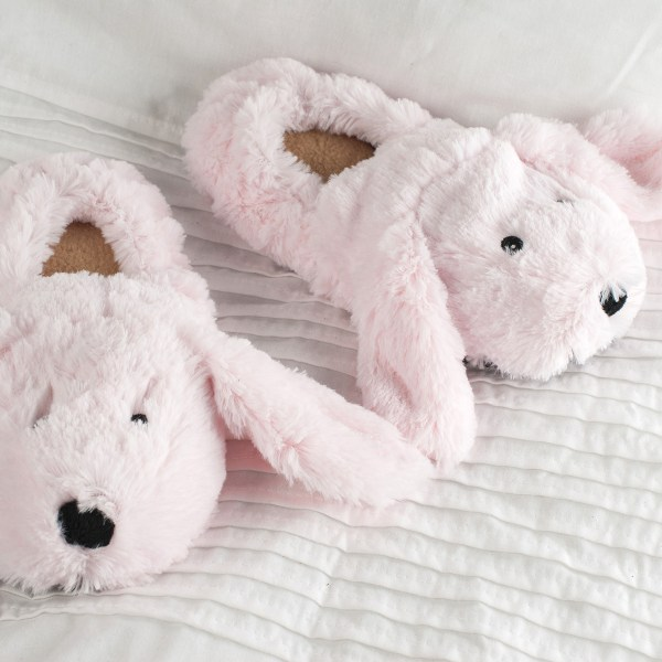 Microwavable Bunny Slippers - Kids