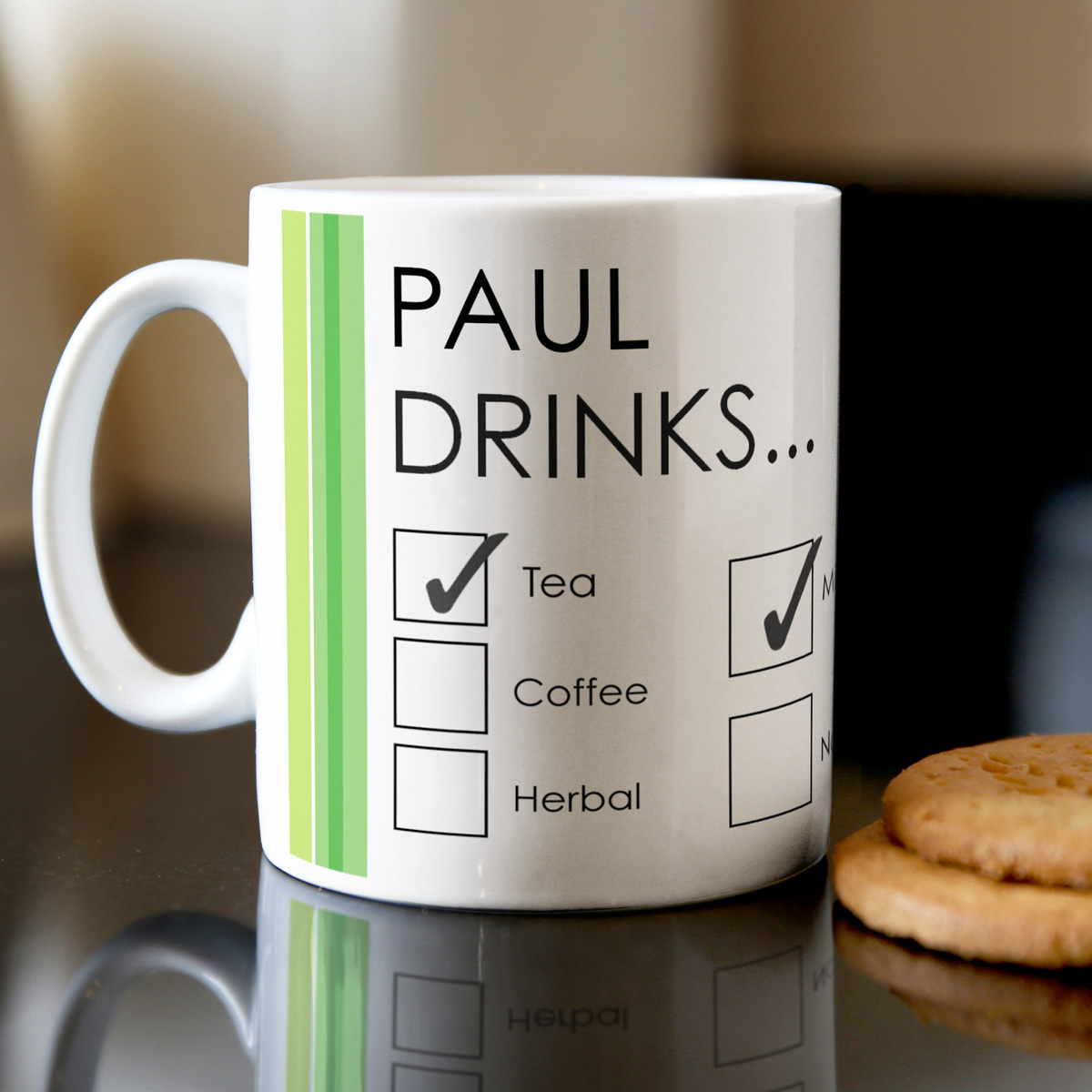 Personalised Mug One Sugar Or Two