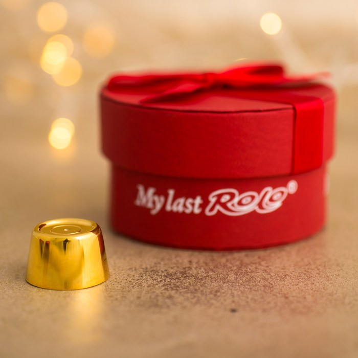 Personalised My Last Rolo - Gold