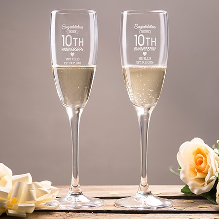 10th Tin Wedding Anniversary Gifts  Ideas