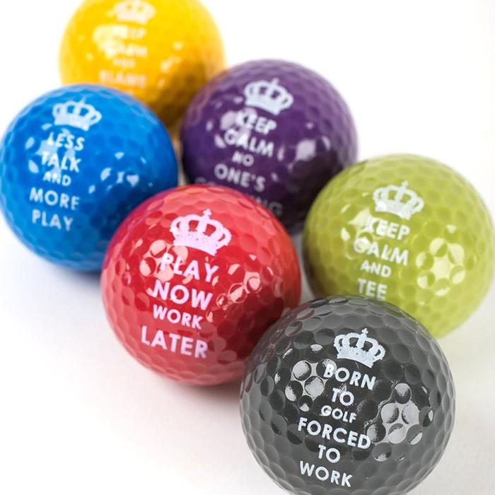 Keep Calm Golf Balls