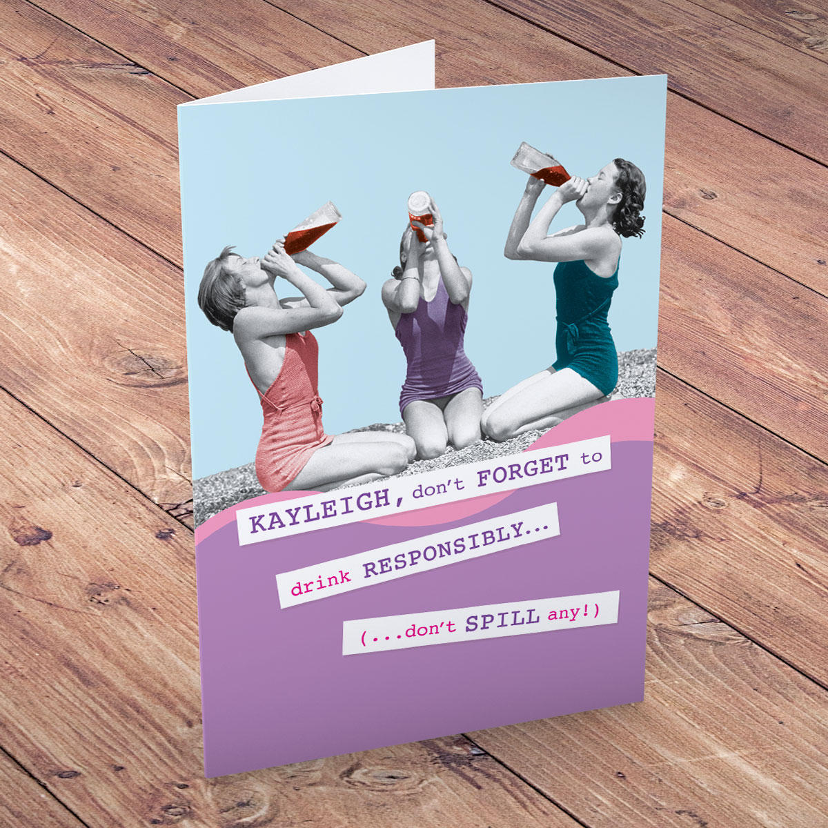 Personalised Funny Birthday Cards Gettingpersonal