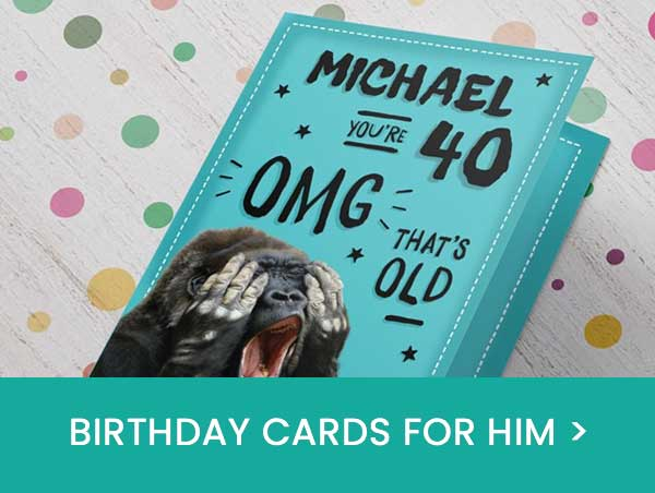 personalised cards delivered straight