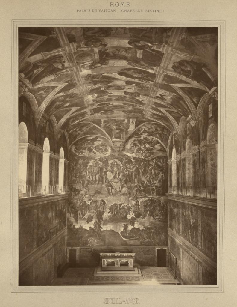 La Chapelle Sixtine Michel Ange : chapelle, sixtine, michel, Palais, Vatican,, Chapelle, Sixtine, Michel-Ange, (Getty, Museum)