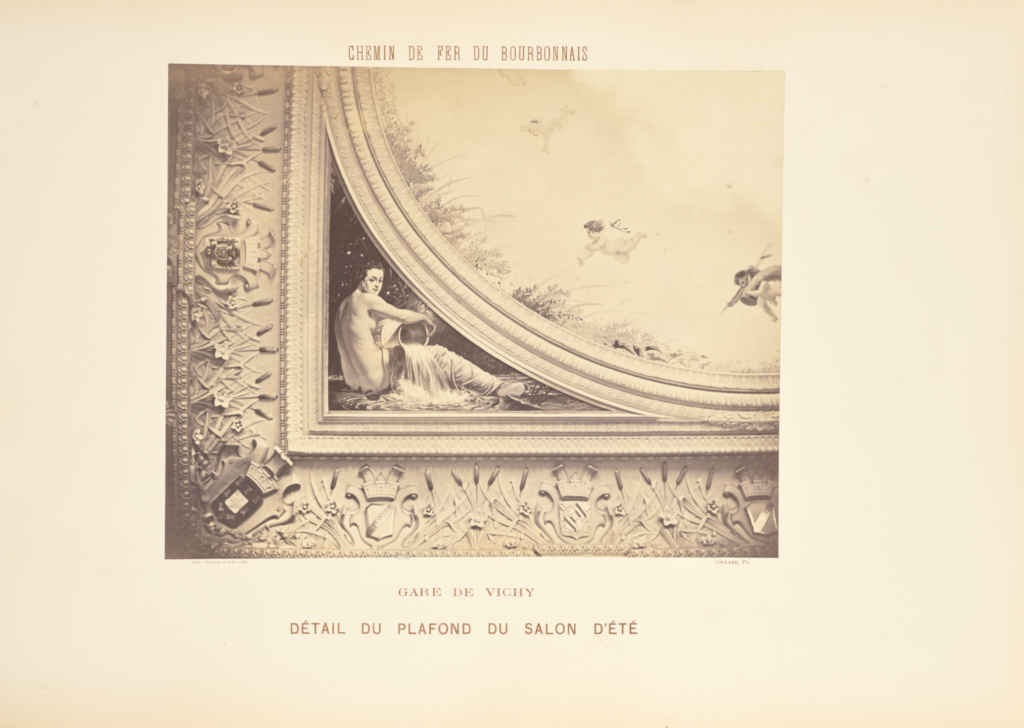 http www getty edu art collection objects 217776 auguste hippolyte collard gare de vichy platfond du salon d ete french 1860 1863