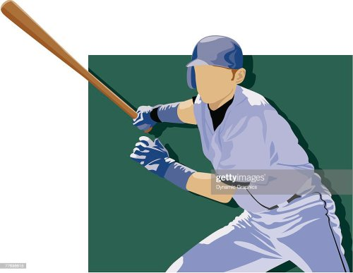small resolution of baseball batter clipart vectoriel