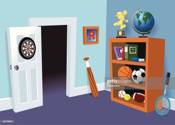 2 276 Kids Room High Res Illustrations Getty Images