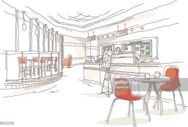 restaurant inside clip illustrations clipart vector cartoons graphics start explore