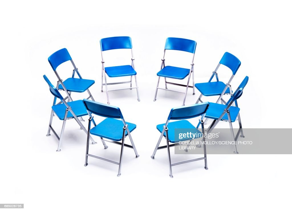 folding circle chairs womb chair and ottoman stock illustrations cartoons of