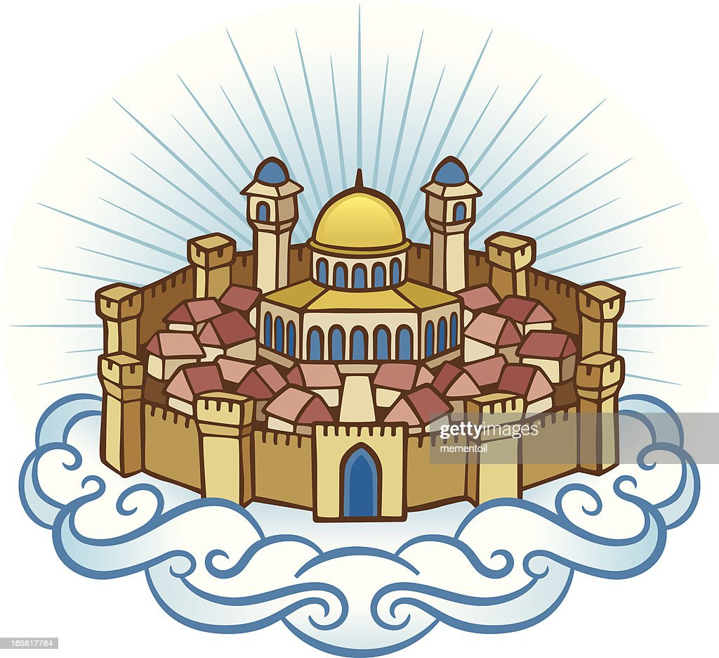 hight resolution of heavenly jerusalem