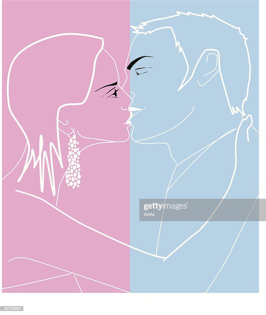 hight resolution of kiss