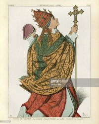 Medieval Pope Officiating 15th Century High Res Vector Graphic Getty Images