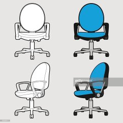 Office Chair Illustration Fold Up Chairs For Kids Stock Illustrations And Cartoons Outline Toon