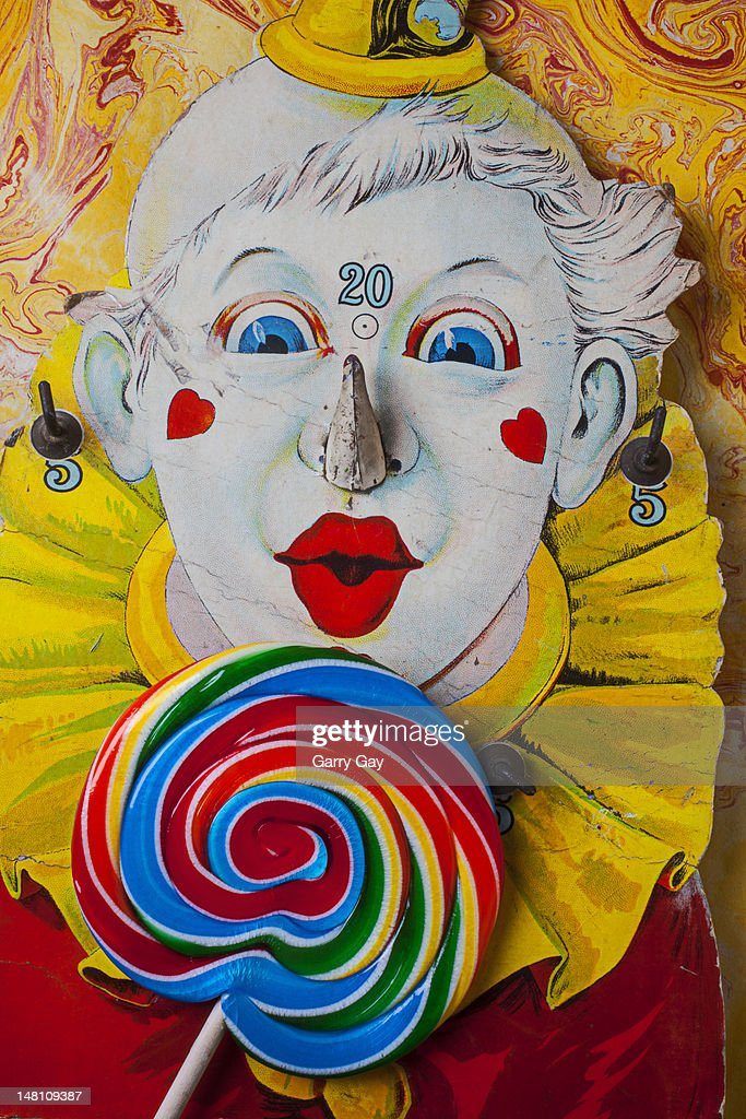 old clown game and