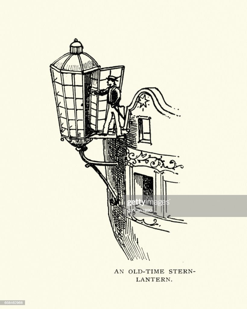 Stern Lantern On A Old Sailing Ship High Res Vector Graphic Getty Images