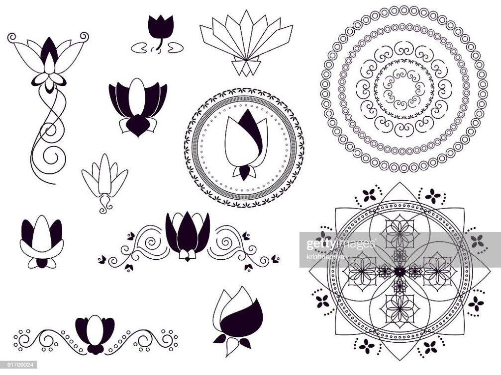 Tattoo Of Tribal Lotus Beauty And Strength Tattoo Custom
